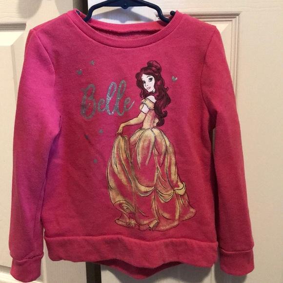 0e3d1d304 Disney Shirts & Tops | Jumping Beans Size 6 Belle Sweatshirt | Poshmark